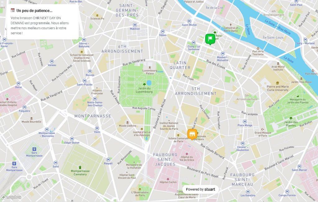 Cdiscount carte interactive